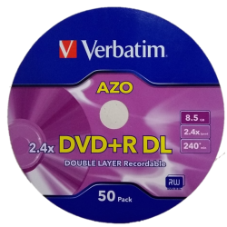 DVD Doble capa Verbatim 8.5GB