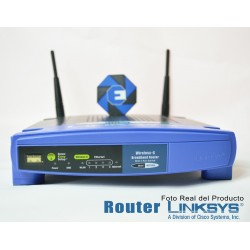 Router Linksys 2.4GHz...